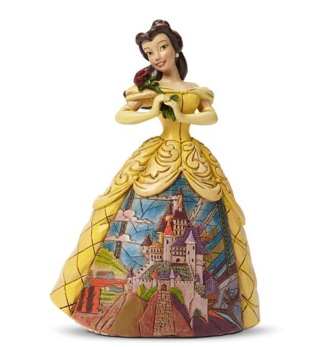 ジムショア お城のドレスと神秘的なベル 美女と野獣 ディズニー 4045238 Enchanted-Belle With Castle Dress Figurine JimShore 【ポイント最大43倍!お買物マラソン】
