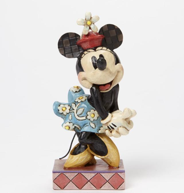 ジムショア ミニーマウス 完璧な恋人 ディズニー 4045246 Perfect Sweetheart-Minnie Mouse Personality Pose Figurine JimShore 【ポイント最大43倍!お買物マラソン】