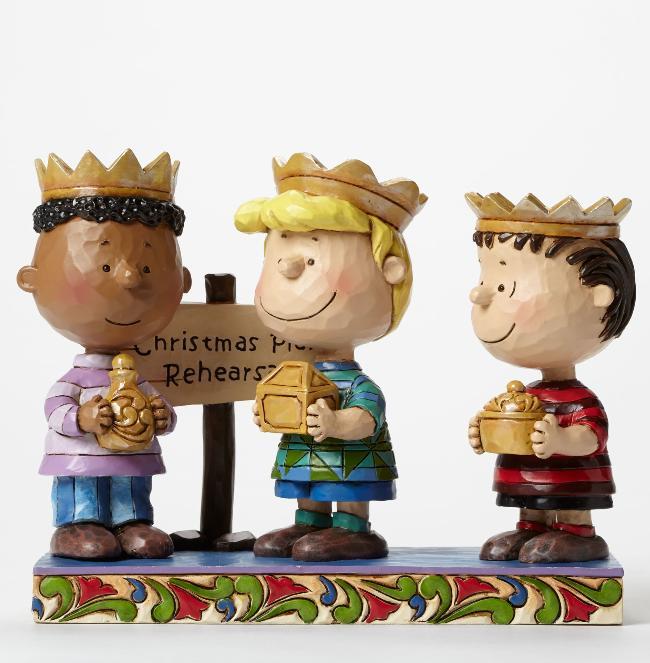 ジムショア 「習うより慣れろ」 3人の賢人フランクリン、シュローダーとライナス スヌーピー 4045874 Practice Makes Perfect-3 Wise Men Franklin, Schroeder, and Linus Figurine JimShore 【ポイント最大43倍!お買物マラソン】