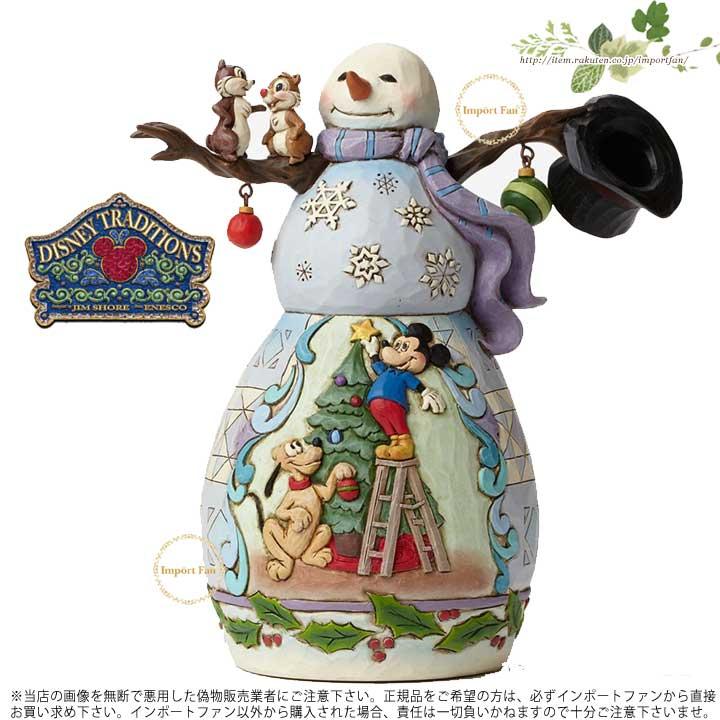 ジムショア ミッキーとプルートのクリスマスツリー スノーマン チップとデール ディズニー 4046019 Mischief And Merriment-Mickey And Pluto Christmas Tree JimShore 【ポイント最大43倍!お買物マラソン】
