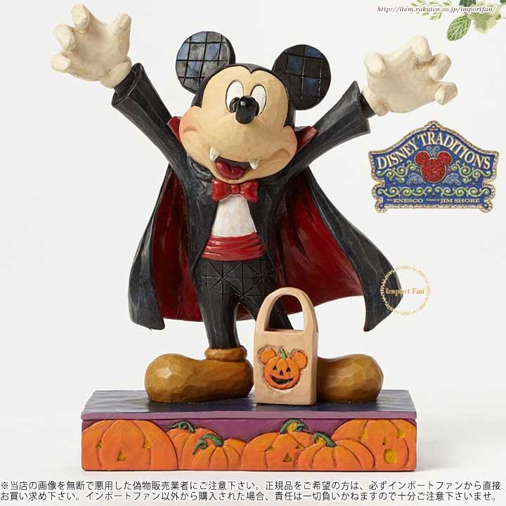 ジムショア ヴァンパイア ミッキーマウス ディズニー 4046027 Count Mickey-Vampire Mickey Mouse Figurine JimShore 【ポイント最大42倍!お買物マラソン】