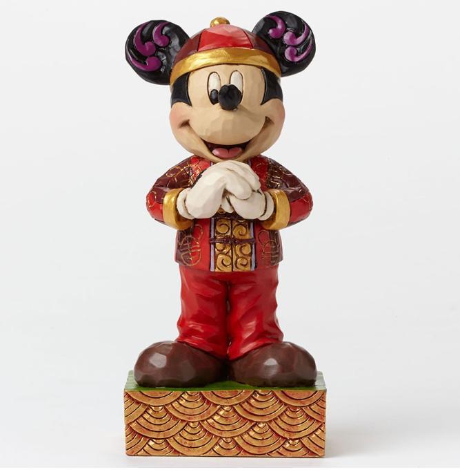 ジムショア ミッキーマウス 中国からの挨拶 ディズニー 4046050 Greetings From China-Mickey Mouse In China Figurine JimShore 【ポイント最大43倍!お買物マラソン】