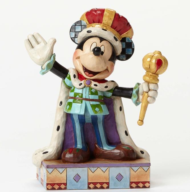 ジムショア ミッキーマウス 一日間の王様 ディズニー 4048654 King For a Day-Mickey King for a Day Figurine JimShore 【ポイント最大43倍!お買物マラソン】