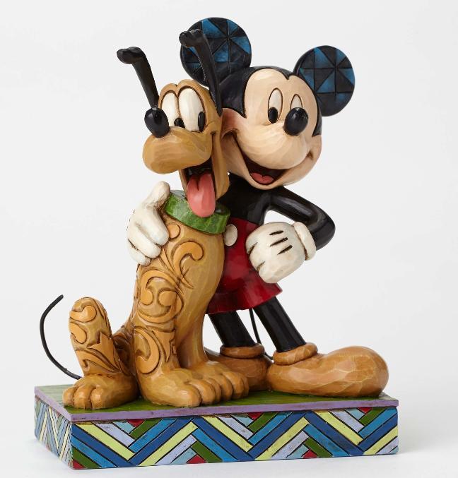 ジムショア ミッキーとプルート 親友 ディズニー 4048656 Best Pals-Mickey and Pluto Figurine JimShore 【ポイント最大43倍!お買物マラソン】