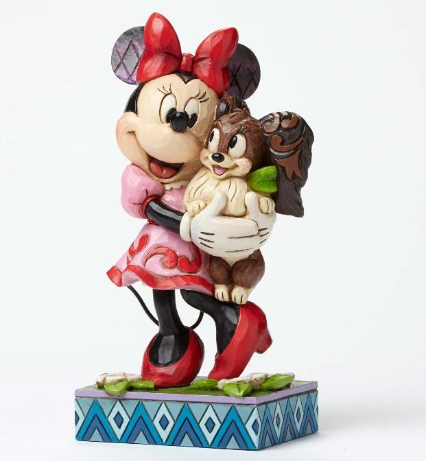 ジムショア ミニ―とフィフィ 永遠の友達 ディズニー 4048657 Furrever Friends-Minnie and Fifi Figurine JimShore 【ポイント最大43倍!お買物マラソン】