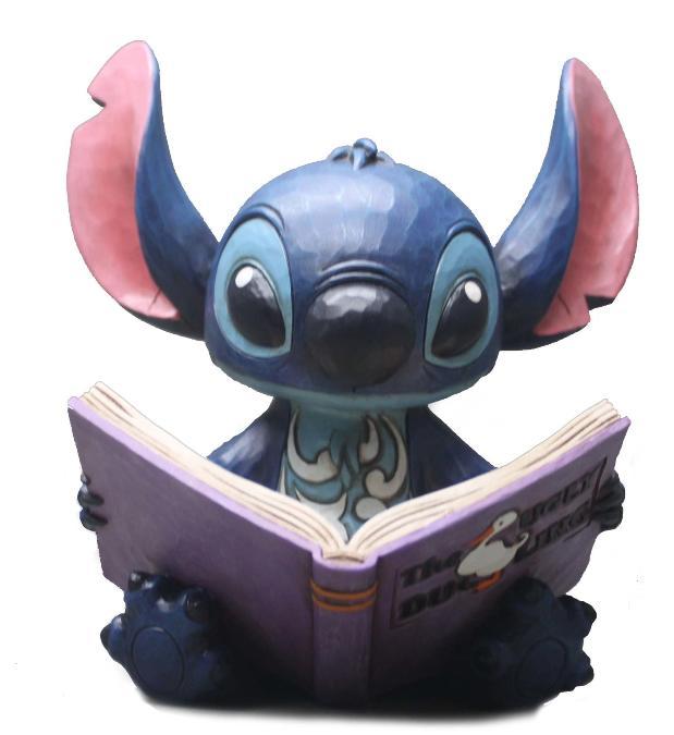 ジムショア スティッチとストーリーブック 家族を見つけて リロ&スティッチ ディズニー 4048658 Finding a Family-Stitch with Story Book Figurine JimShore 【ポイント最大43倍!お買物マラソン】