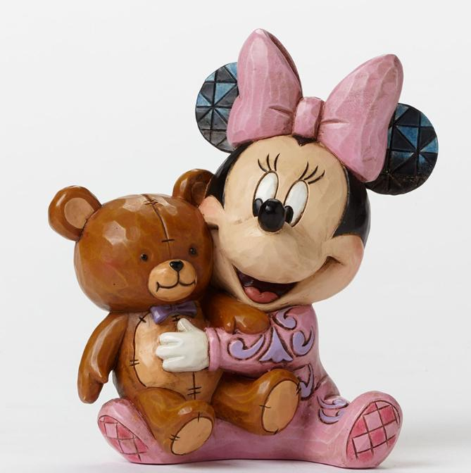 ジムショア ベビーミニー 寝る時間 ディズニー 4049023 Bed Time Besties-Baby's First Minnie Figurine JimShore □