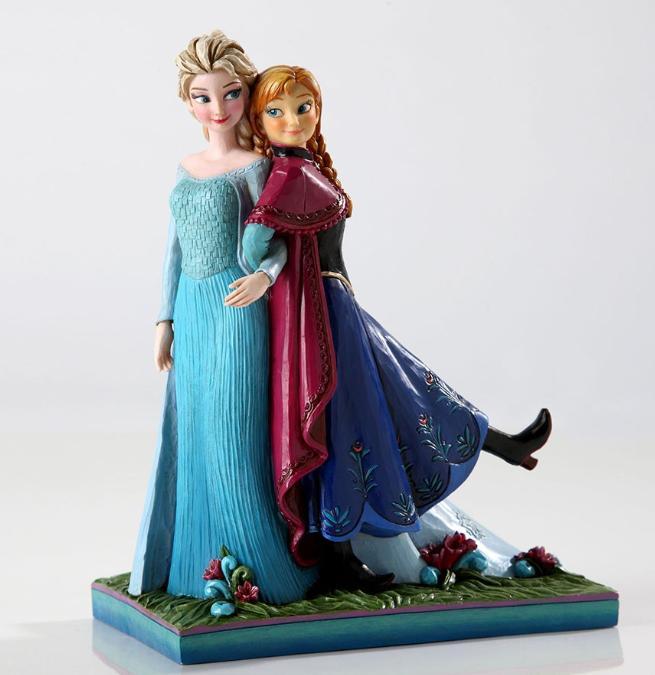 ジムショア エルサとアナ 永遠の姉妹 アナと雪の女王 ディズニー 4049101 Sisters Forever-Elsa And Anna Musical Figurine JimShore □