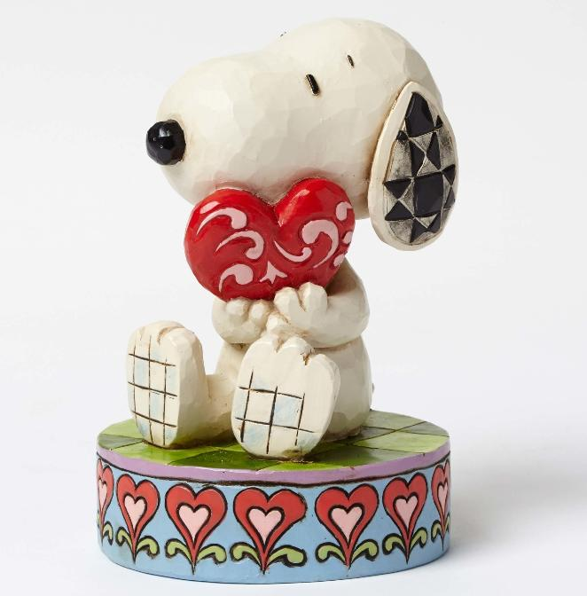 ジムショア スヌーピーとハート あなたを愛してる 4049396 I Love You-Snoopy Holding Heart Figurine JimShore 【ポイント最大43倍!お買い物マラソン セール】