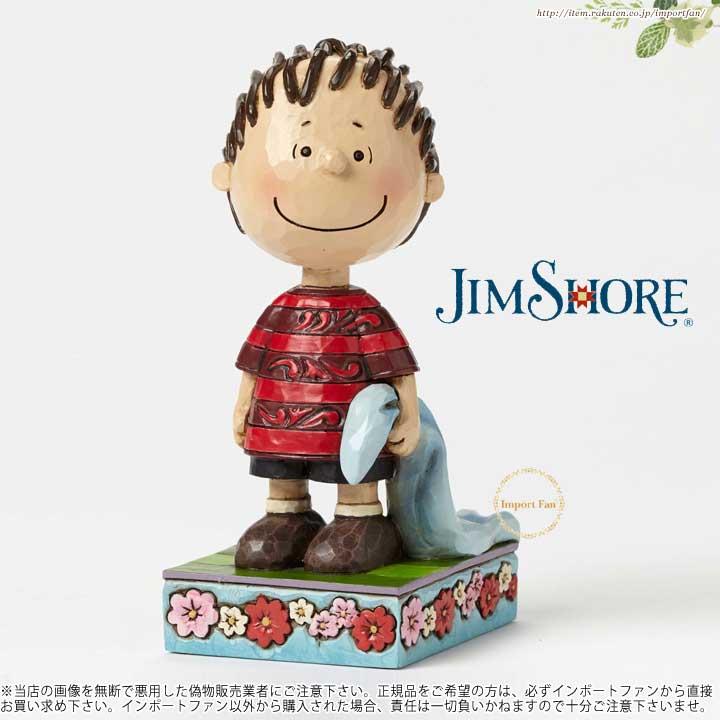 ジムショア 忠実なライナス-ライナスの人物ポーズの置物 スヌーピー 4049399 Loyal Linus-Linus Personality Pose Figurine JimShore □