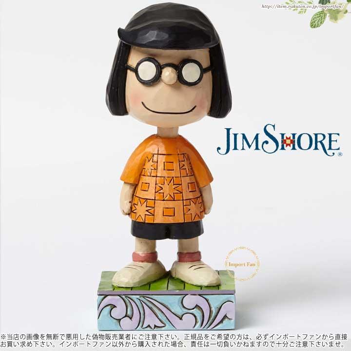 ジムショア 控えめなマーシーの人物ポーズの置物 スヌーピー 4049407 Modest Marcie-Marcie Personality Pose Figurine JimShore □