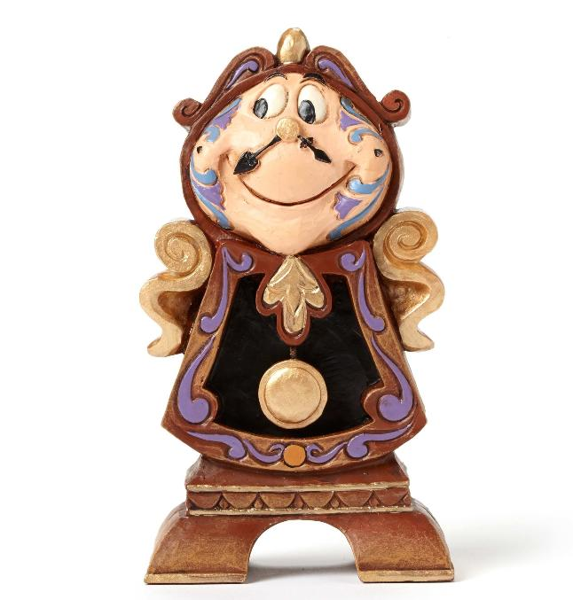 ジムショア コグスワース 管理時計 美女と野獣 ディズニー 4049621 Keeping Watch-Cogsworth Figurine JimShore □