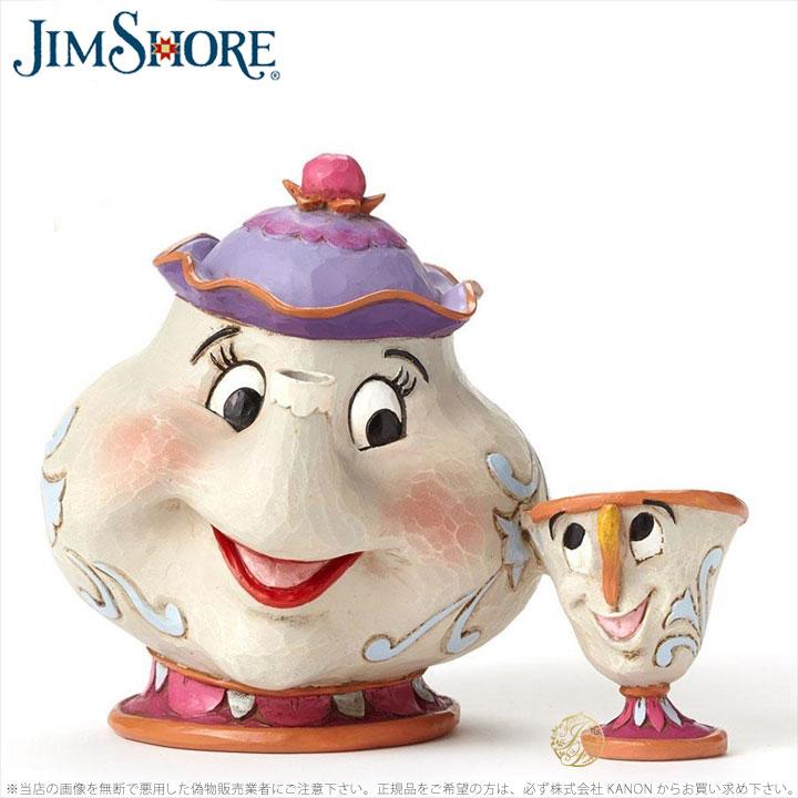 ジムショア ポットさんとチップ 母の愛 母の日におすすめ 美女と野獣 ディズニー 4049622 A Mother's Love-Mrs. Potts and Chip Figurine JimShore □