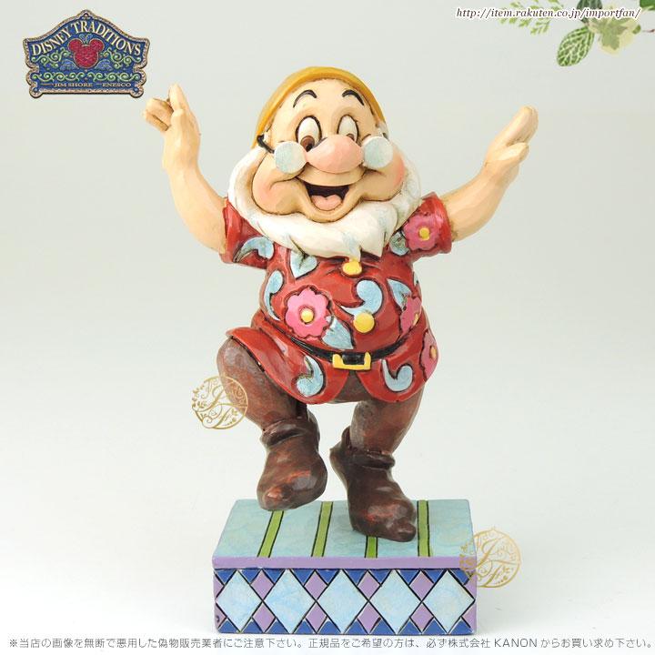 ジムショア 先生ドック ダンシング 白雪姫と7人の小人 ディズニー 4049628 Dancing Doc-Doc Figurine JimShore □