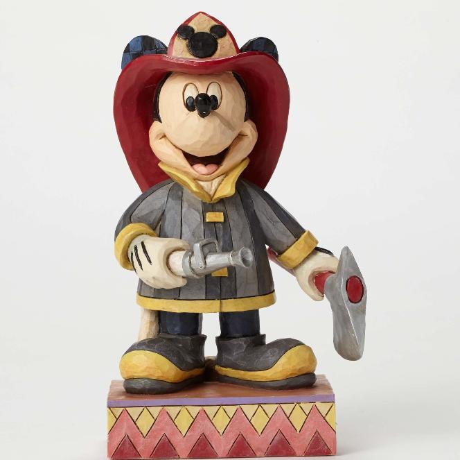 ジムショア ミッキーマウス 消防士 救助のために ディズニー 4049632 To the Rescue-Fireman Mickey JimShore 【ポイント最大42倍!お買物マラソン】