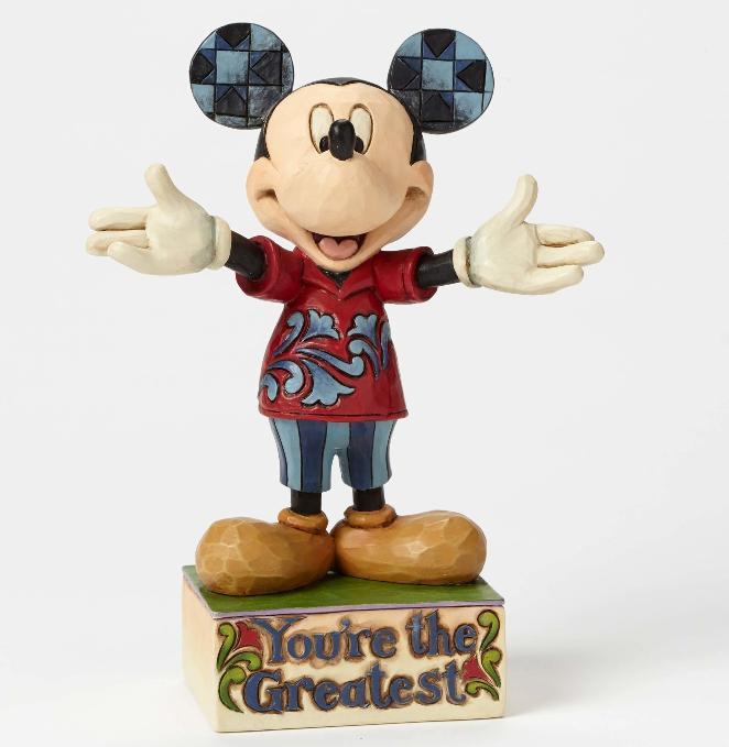 ジムショア ミッキーマウス あなたは最高にすばらしい ディズニー 4049637 You're the Greatest-Mickey Mouse Figurine JimShore 【ポイント最大43倍!お買物マラソン】