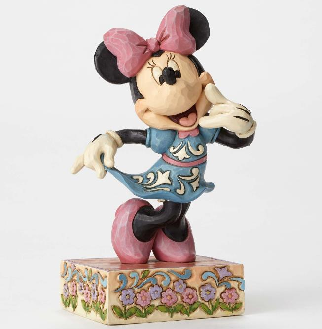 ジムショア ミニーマウス 私に電話して ディズニー 4049638 Call Me-Sweetheart Minnie Mouse Figurine JimShore □