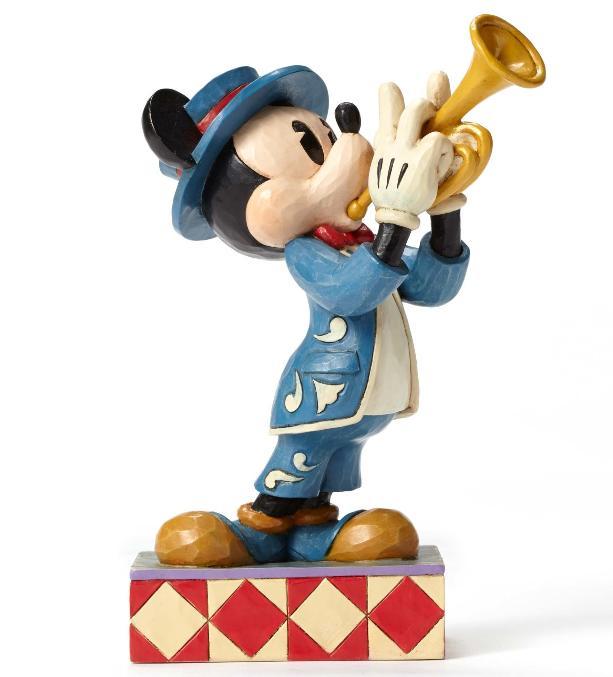 ジムショア ミッキーマウス ラッパ男子 ディズニー 4050385 Bugle Boy-Bugle Boy Mickey Figurine JimShore【ポイント最大43倍!スーパー セール】