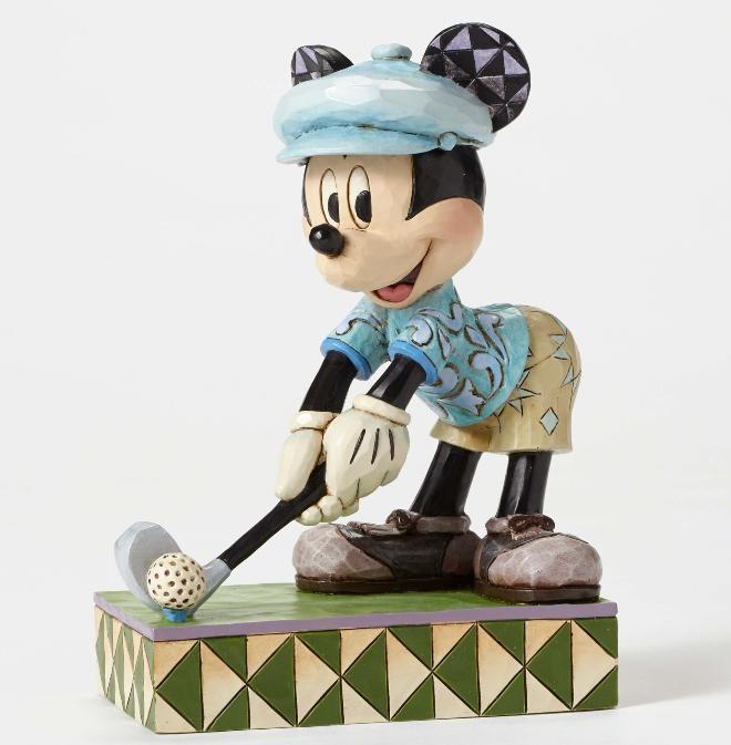 ジムショア ミッキーマウス ゴルフ ホールインワン ディズニー 4050392 Hole In One-Golfing Mickey Figurine JimShore 【ポイント最大43倍!お買物マラソン】