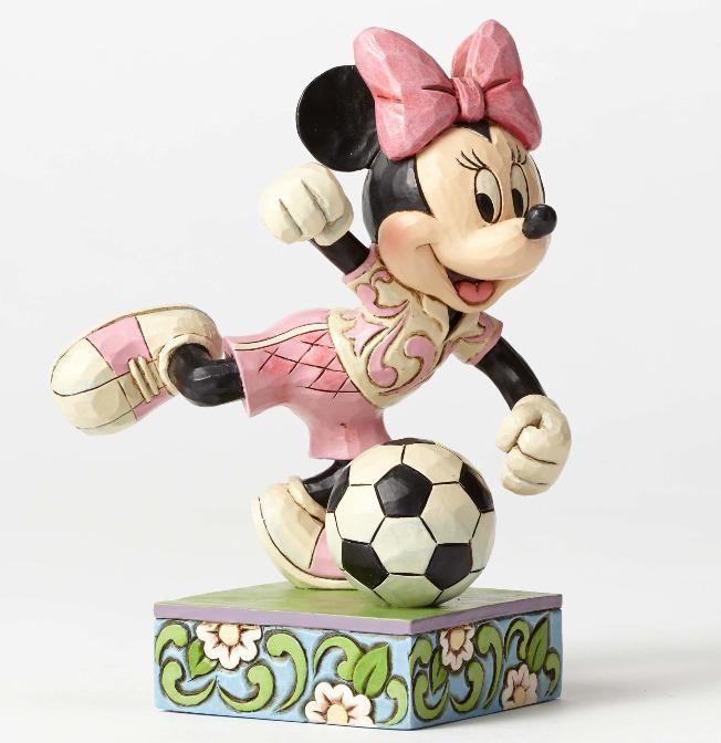 ジムショア ミニーマウス サッカー ゴール ディズニー 4050397 Goal!-Soccer Minnie Figurine JimShore 【ポイント最大43倍!お買物マラソン】
