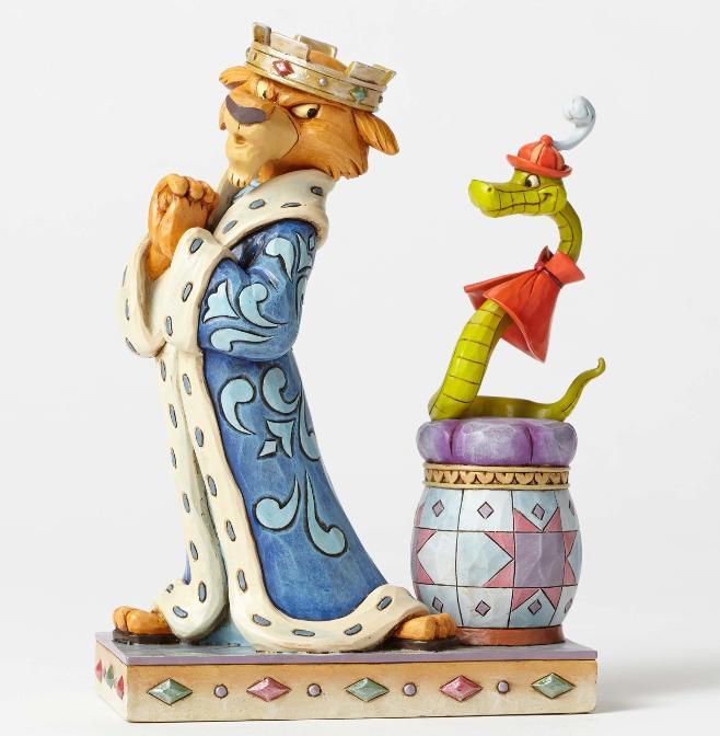 ジムショア ジョン王子とヒス 王の苦痛 ロビンフッド ディズニー 4050418 Royal Pains-Prince John and Sir Hiss Figurine JimShore□