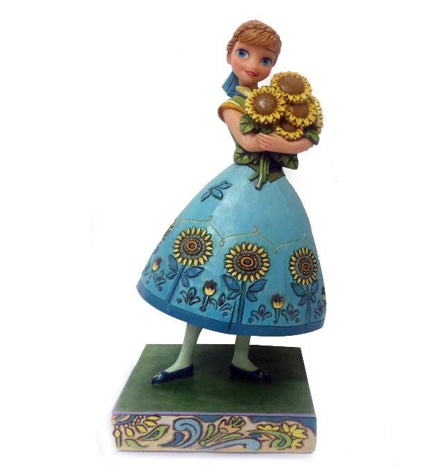 ジムショア アナ 花の中の春 アナと雪の女王 ディズニー 4050882 Spring In Bloom-Frozen Fever Anna Figurine JimShore 【ポイント最大43倍!お買物マラソン】