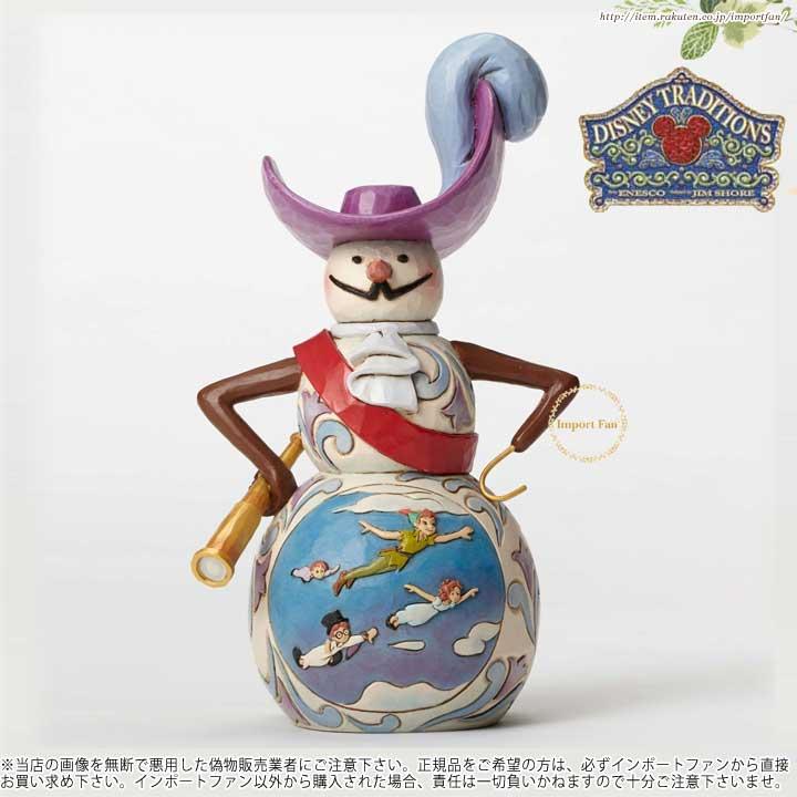 ジムショア ネバーランド の クリスマス ピーターパン の雪だるま 4051971 Christmas in Neverland-Peter Pan Snowman Figurine JimShore 【ポイント最大43倍!お買い物マラソン セール】