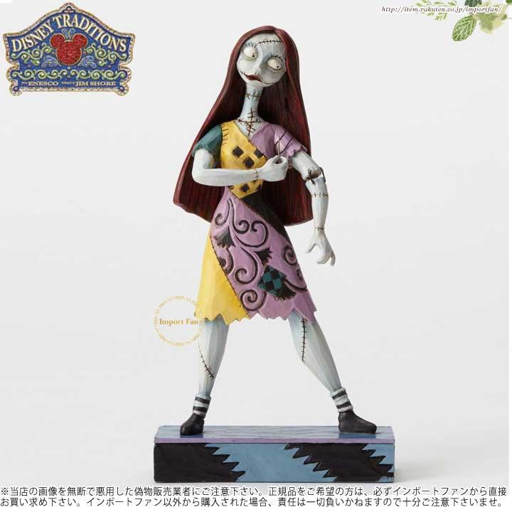 ジムショア ハロウィン サリー ナイトメアー ビフォア クリスマス ディズニー 4051984 Disarming Damsel-Sally Figurine JimShore□