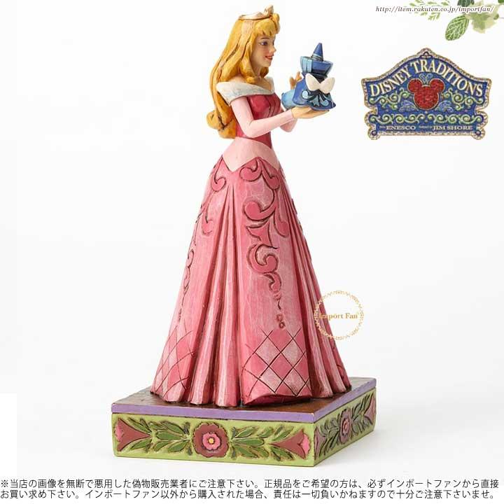 ジムショア 眠れる森の美女 オーロラ姫とフェアリーのフィギュア ディズニー 4054275 Wonder and Wisdom-Aurora with Fairy Figurine JimShore □