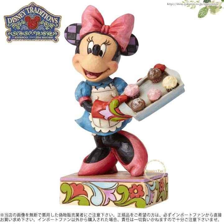 ジムショア 焼きたてのパンを持ったミニー ディズニー 4055411 Sugar, Spice and Everything Nice-Baker Minnie JimShore □