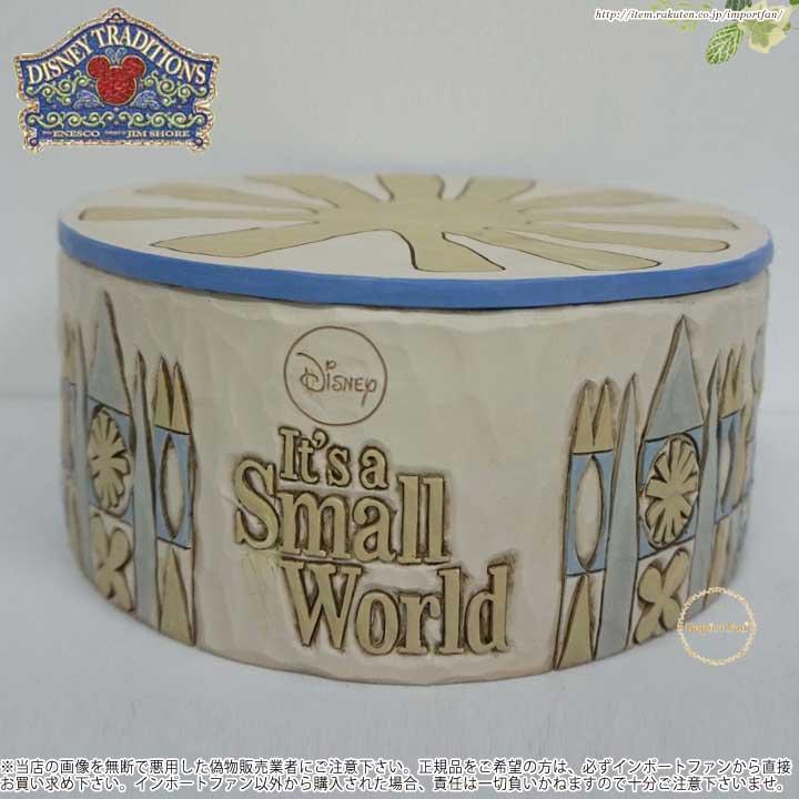 ジムショア スモールワールドミュージカルベースディスプレイヤー ディズニー 4055427 Small World Musical Base Displayer JimShore □