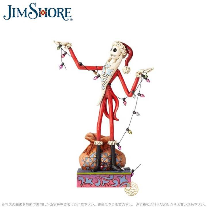 ジムショア サンタ ジャック ナイトメアー ビフォア クリスマス ディズニー 4057954 Santa Jack with Christmas JimShore 【ポイント最大43倍!お買い物マラソン セール】