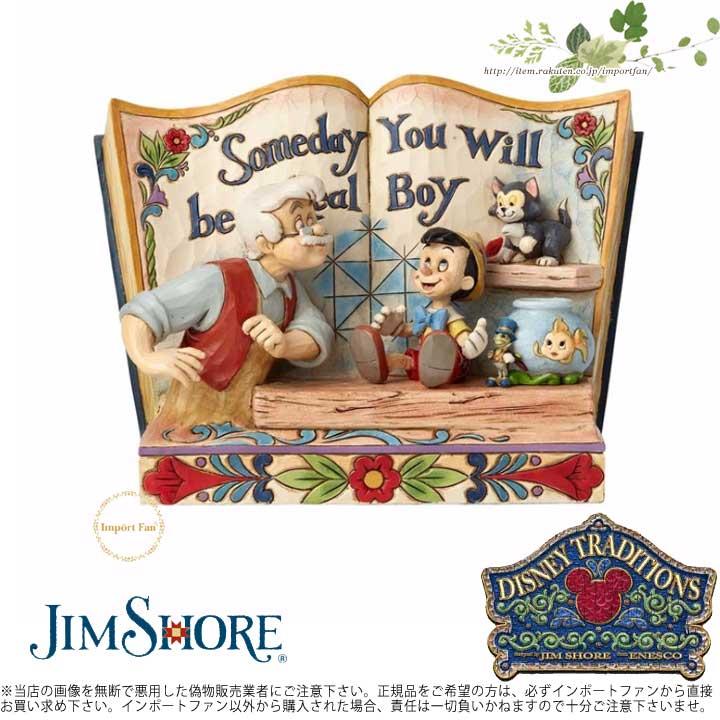 ジムショア ピノキオのストーリーブック ディズニーの伝統 ピノキオディズニー 4057957 Pinocchio Storybook Disney Traditions JimShore