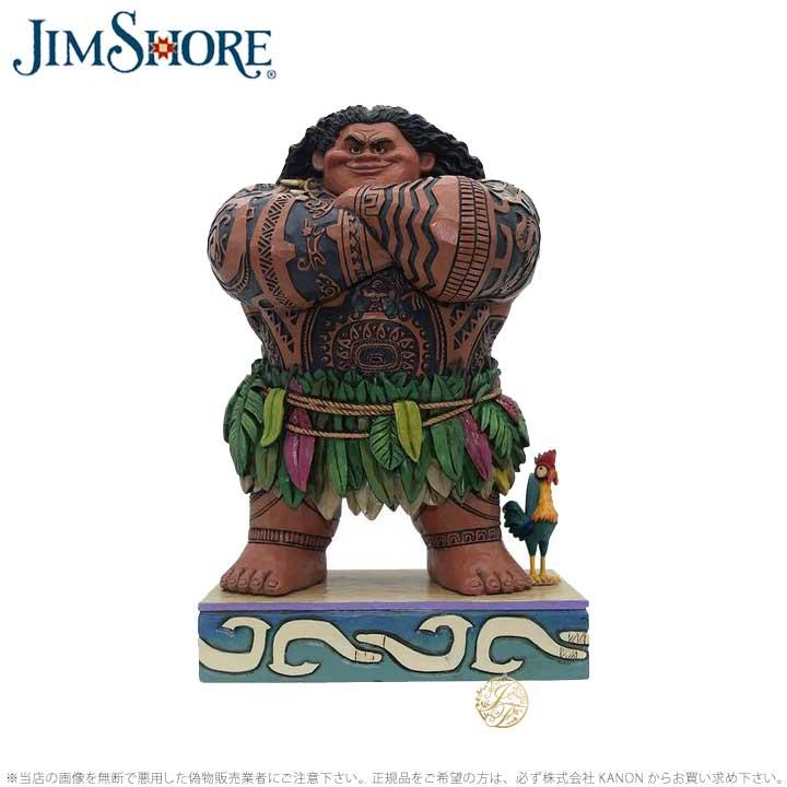 ジムショア マウイ モアナと伝説の海 ディズニー 4058284 Maui JimShore 【ポイント最大44倍!お買い物マラソン セール】
