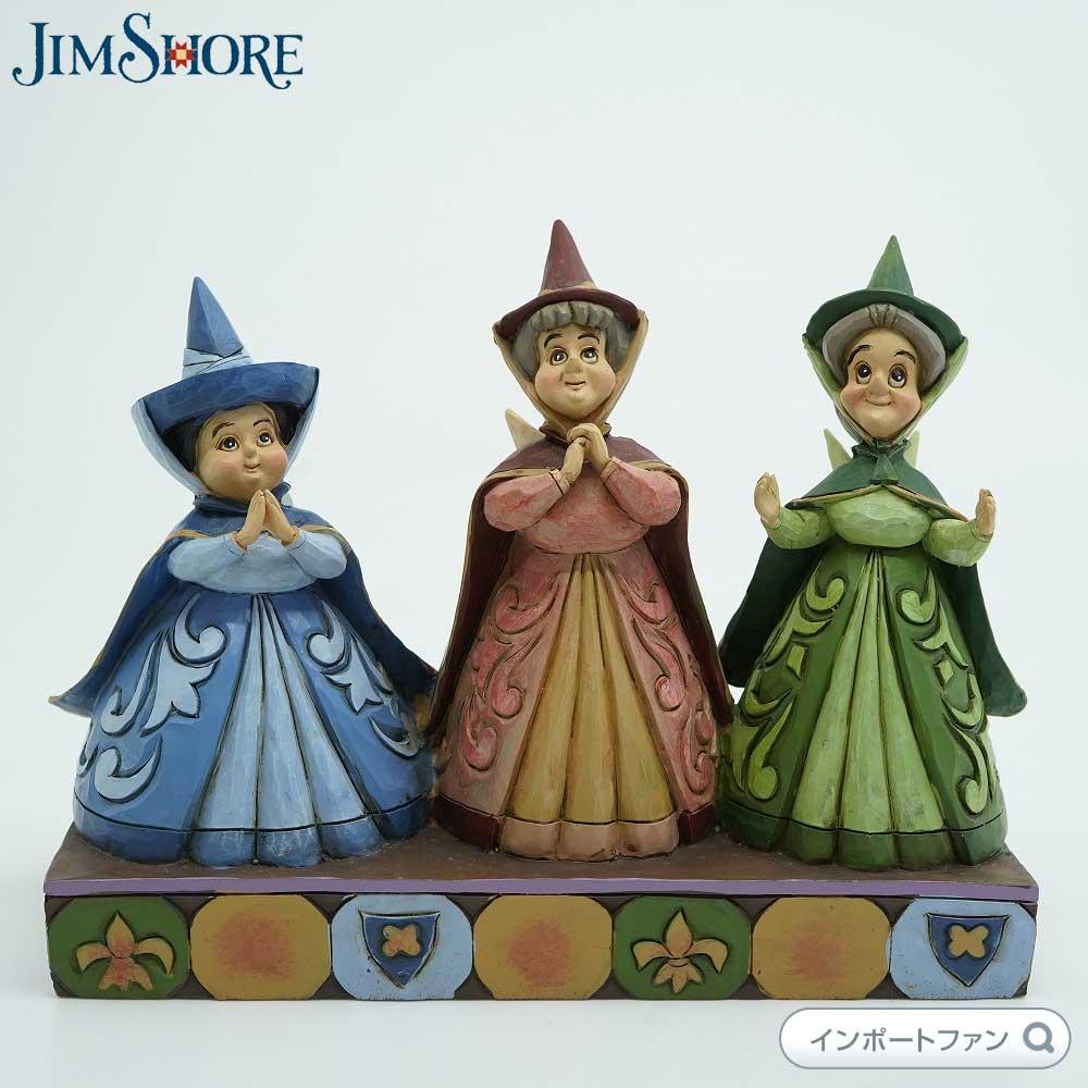 ジムショア 三人の妖精 眠れる森の美女 ディズニー 4059734 Three Fairies JimShore【ポイント最大43倍!スーパー セール】