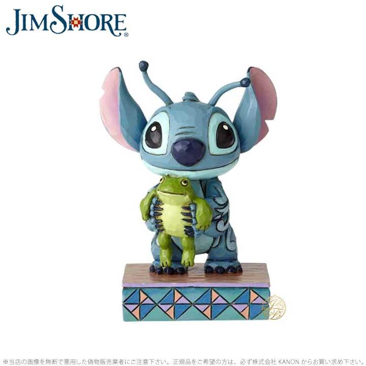 ジムショア スティッチ リロ・アンド・スティッチ カエル ディズニー 4059741 Stitch Personality Pose JimShore □