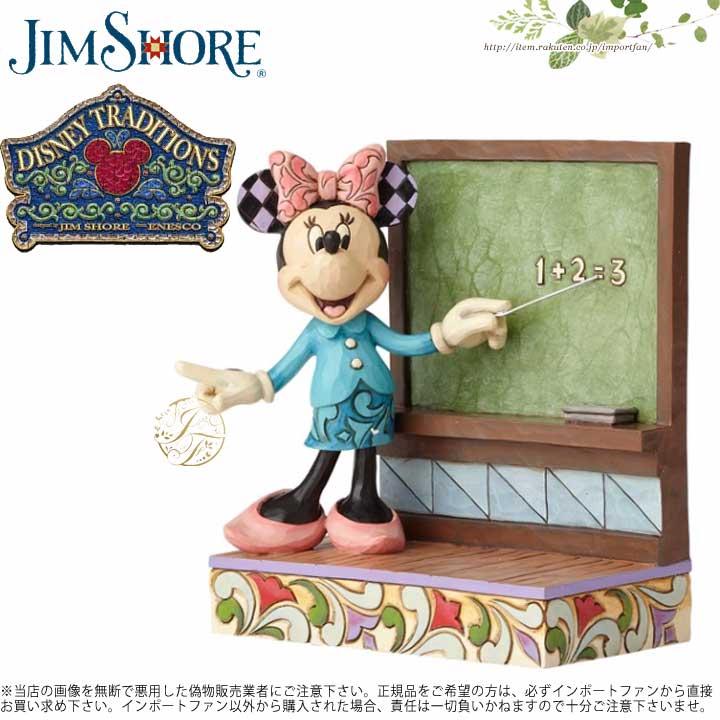 ジムショア 教師になったミニーマウス ディズニー ミニーマウス 4059750 Teacher Minnie (Personalize) Disney Traditions