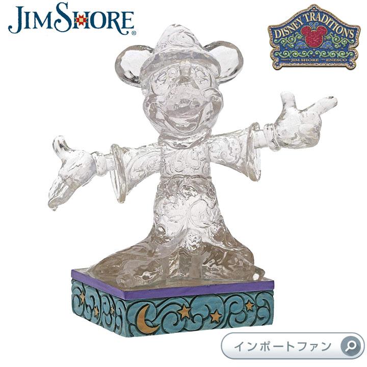 ジムショア アイス ブライト 魔法使い ミッキー ディズニー 4059926 Ice Bright Sorcerer Mickey JimShore □