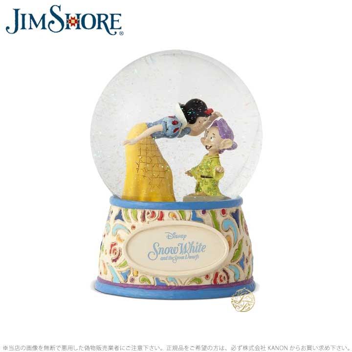 ジムショア 白雪姫とおとぼけ ウォーターボール スノードーム ディズニー 4060098 Snow White and Dopey Waterball JimShore 【ポイント最大44倍!お買い物マラソン セール】