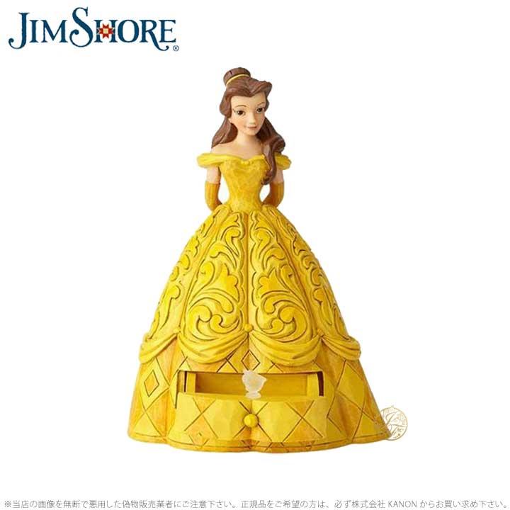 ジムショア ベル 美女と野獣 チップ ディズニー 6000963 Belle with Chip Charm JimShore□
