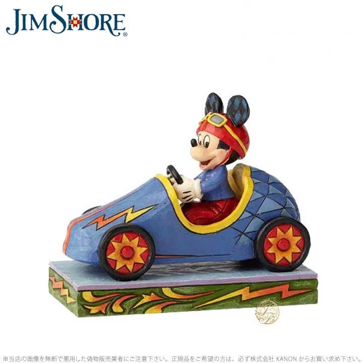 ジムショア 自動車に乗るミッキーマウス ディズニー 6000974 Soap Box Derby Mickey JimShore 【ポイント最大44倍!お買い物マラソン セール】