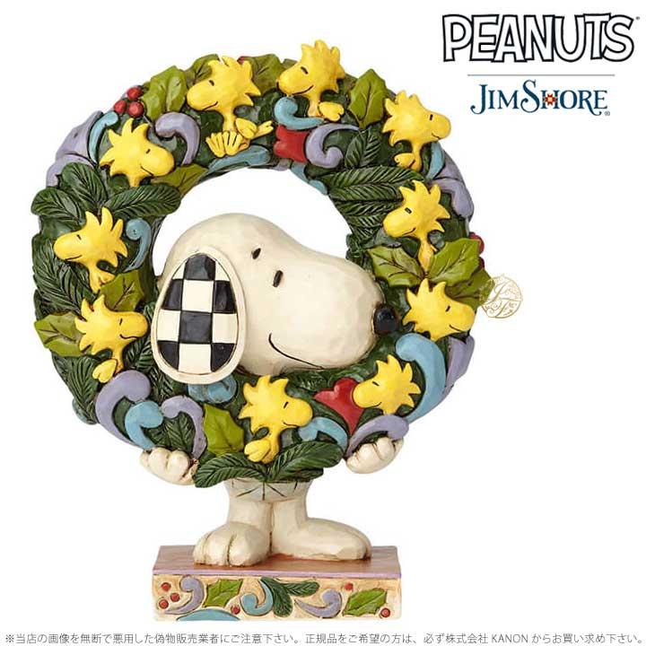 【保障できる】 ジムショア スヌーピーとウッドストックのリース クリスマス 6000984 ジムショア チャーリー Shore ブラウン 6000984 Jim Shore Snoopy With Woodstock Wreath □, TRIVANDRUM:5184b793 --- totem-info.com