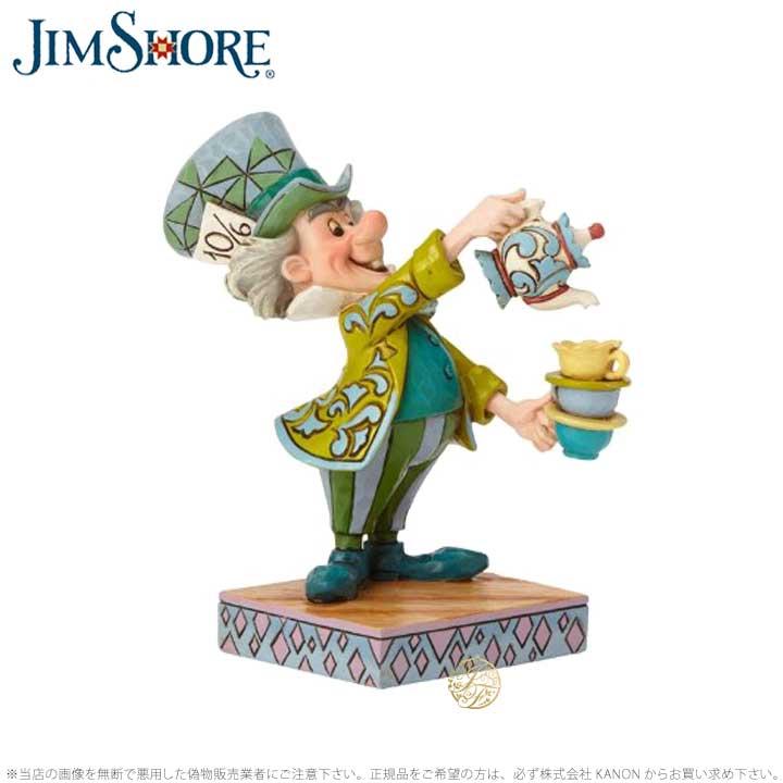 ジムショア マッドハッター いかれ帽子屋 不思議の国のアリス ディズニー 6001273 Mad Hatter JimShore □