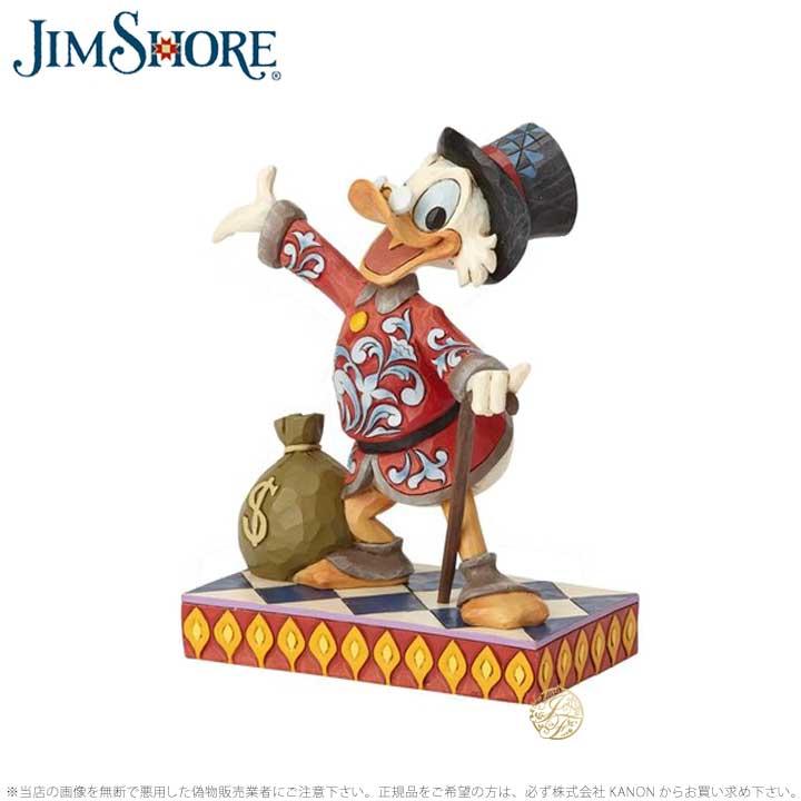 ジムショア スクルージ・マクダック ドナルドダック アヒル ディズニー 6001285 Scrooge Duck Tales JimShore □