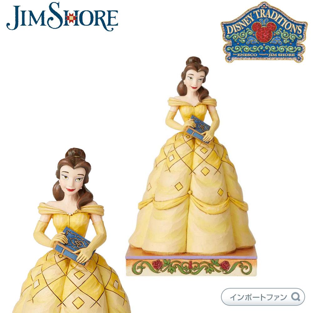 ジムショア ベル プリンセス パッション 美女と野獣 ディズニー 6002818 Princess Passion Belle Disney JimShore 【ポイント最大44倍!お買い物マラソン セール】
