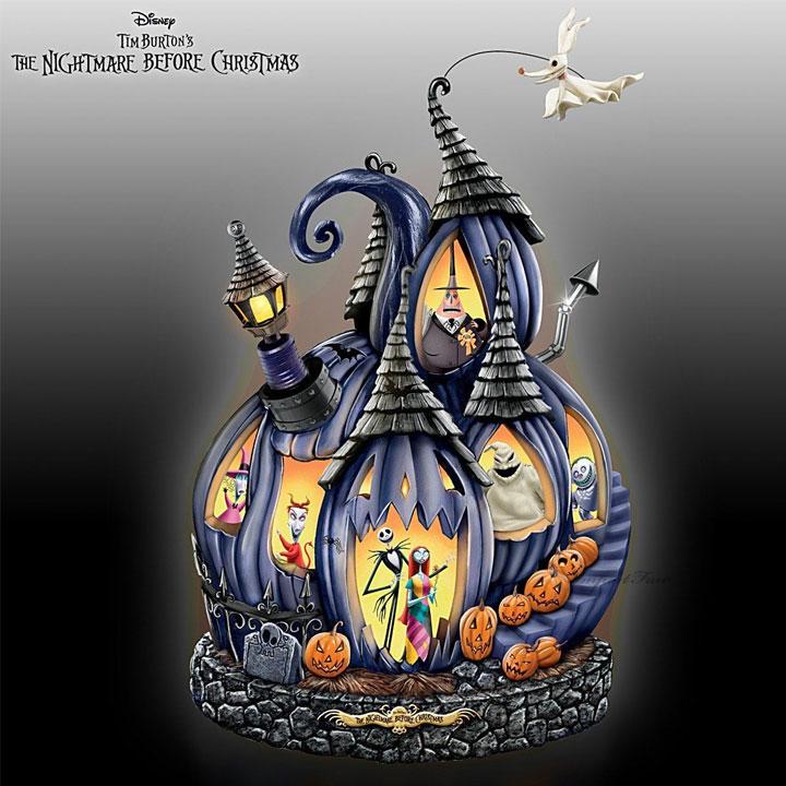 ディズニー ナイトメアー ビフォア クリスマス イルミネーション パンプキン The Nightmare Before Christmas Illuminated Musical Pumpkin jack and sally 【特別予約生産販売品】 【ポイント最大43倍!お買物マラソン】