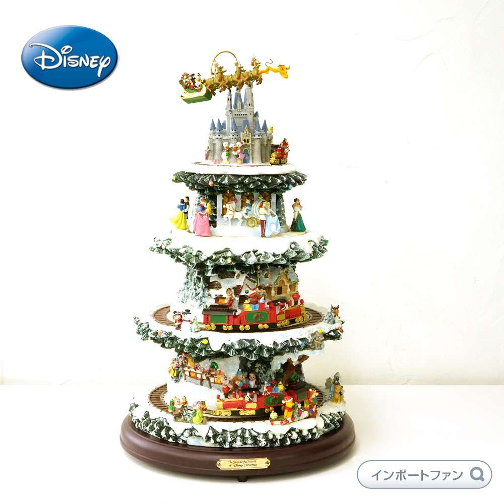 ワンダフルワールド オブ ディズニー クリスマスツリー ディズニー Wonderful World Of Disney Christmas tree 高さ約40cm □