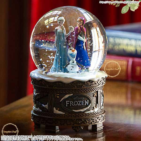 ディズニーストア海外正規品 アナと雪の女王 スノーグローブ|スノードーム