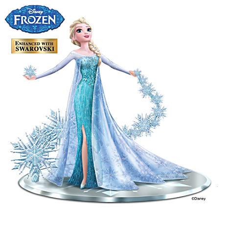 ハミルトン・コレクション ディズニー アナと雪の女王 エルサ フィギュア Disney Frozen