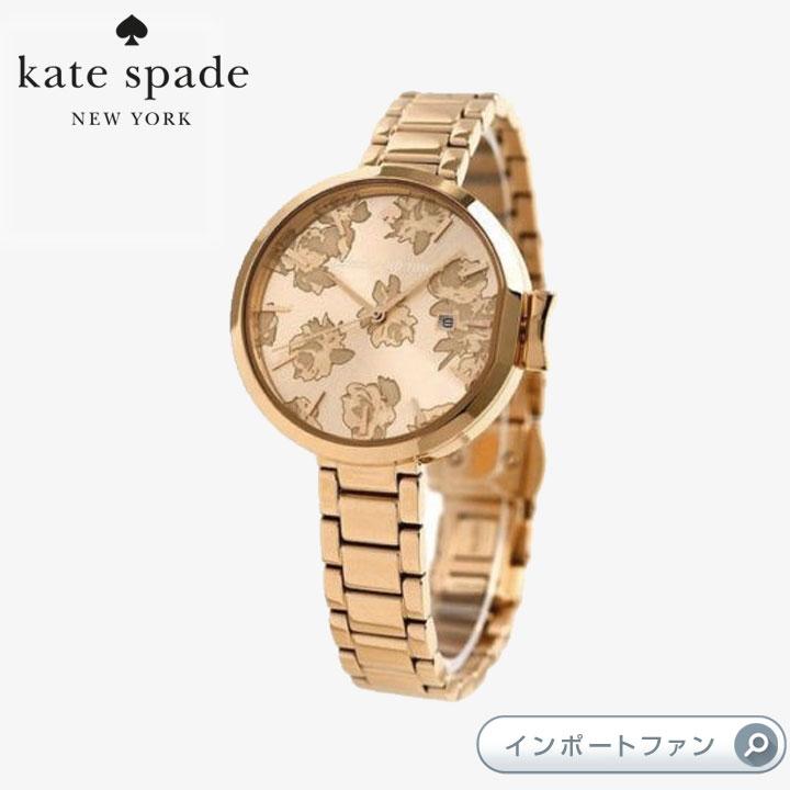 Kate Spade ケイトスペード パーク ロウ カミング アップ ローズ 腕時計 Park Row Coming Up Roses □